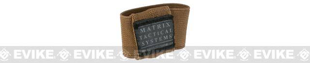 Matrix Laser / Combat Light Switch Elastic Garter Attachment - Coyote Tan