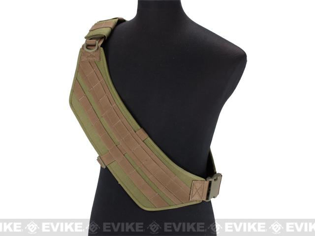 Black Owl Gear / Phantom Gear MOLLE Ready Tactical High Speed Bandolier (Color: Tan)