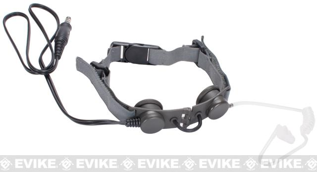 Z-Tactical Throat Mic Microphone (Color: Foliage Green)