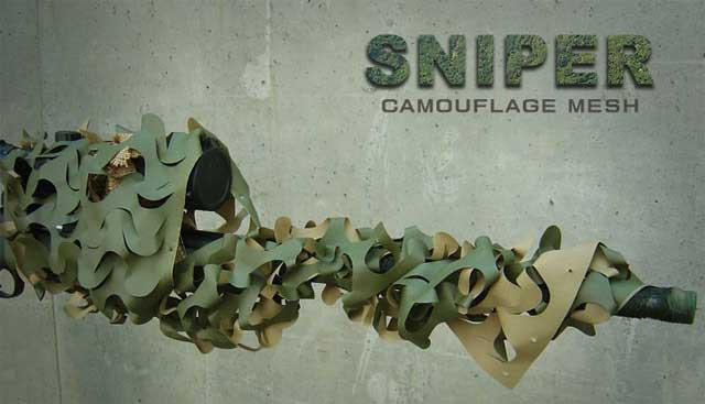 Matrix Sniper Camoflauge Mesh for Airsoft Sniper Rifles