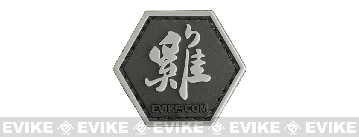 Operator Profile PVC Hex Patch Chinese Zodiac Sign Series (Sign: Year of the Rooster)