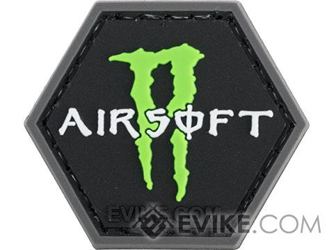 Operator Profile PVC Hex Patch Catchphrase Series (Style: Airsoft Monster)