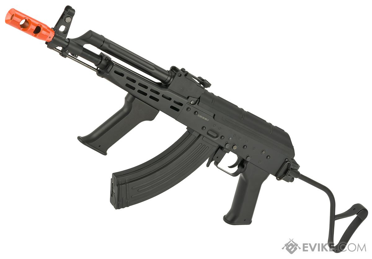 JG Full Metal AK AMD-65 Airsoft AEG Rifle w/ Lipo Ready Gearbox (Package: Black - Gun Only)