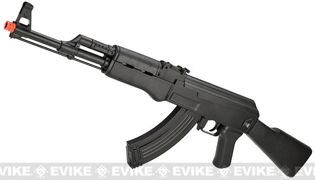CYMA CM022 AK47 Full Size Low Power Airsoft AEG Rifle (Model: AK47 Black)