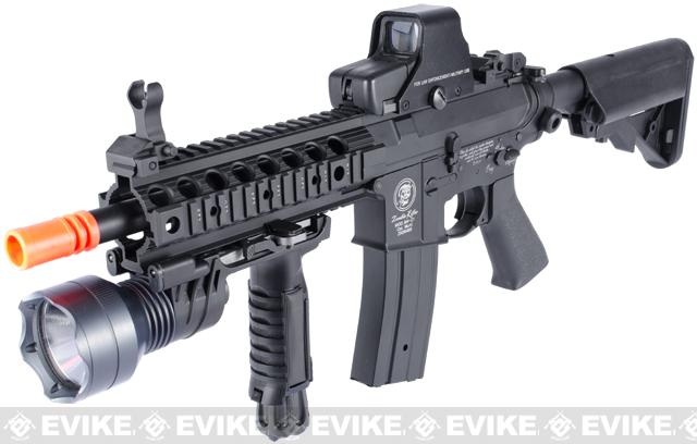 Matrix Custom Full Metal M4 Zombie Killer Custom Airsoft AEG Rifle