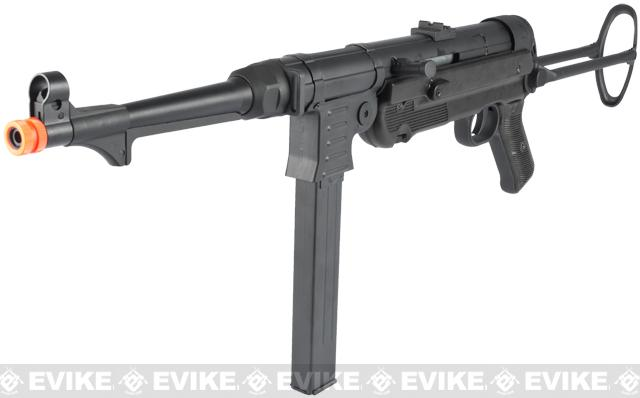 Matrix MP007 MP40 WWII Full Metal Airsoft AEG Rifle by AGM