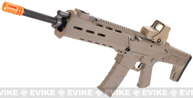 A&K Adaptive Combat Rifle  Airsoft AEG Rifle (Color: Dark Earth / Carbine)