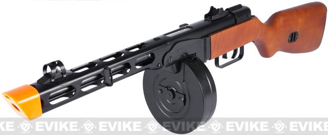 Pre-Order ETA February 2018 S&T PPSh-41 WWII Electric Blowback Airsoft AEG Submachine Gun w/ Drum Mag