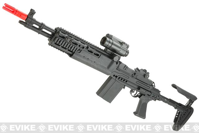 Bone Yard - SAGE International Licensed Full MetalM14 EBR Enhanced Airsoft AEG Rifle by 6mmProShop (Store Display, Non-Working Or Refurbished Models)