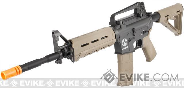z Classic Army Sportline MOE M4 Carbine Airsoft AEG Rifle Value Package - Dark Earth