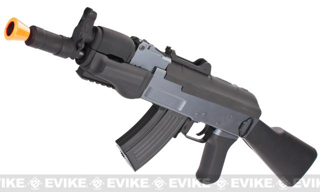 AK Beta Spetsnaz Airsoft AEG Rifle by CYMA w/ Full Stock - (Package: Add Battery + Charger)