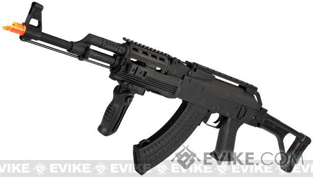 CYMA Full Metal Contractor AK47 Airsoft AEG Rifle with Folding Stock - (Package: Gun Only)