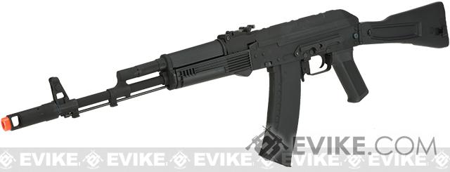 CYMA CM047C Full Metal AK74 with Side Folding full stock Airsoft AEG - (Package: Add Battery + Charger)