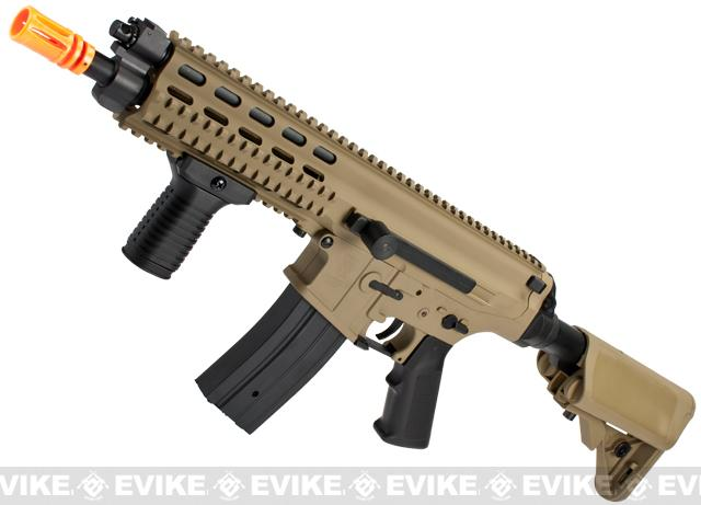 Echo1 Fully Licensed Robinson Armament Polymer XCR-C Airsoft AEG Rifle (Color: Tan)
