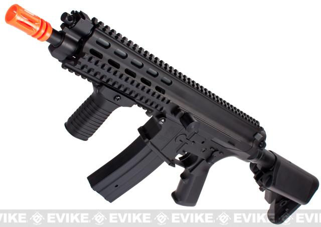 Echo1 Fully Licensed Robinson Armament Polymer XCR-C Airsoft AEG Rifle (Color: Black)