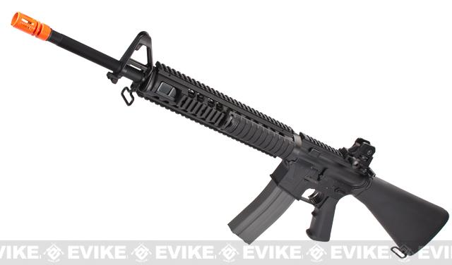 G&G Top Tech GR16 R5 M16 SPR Type Blowback Airsoft AEG Rifle - (Package: Rifle)