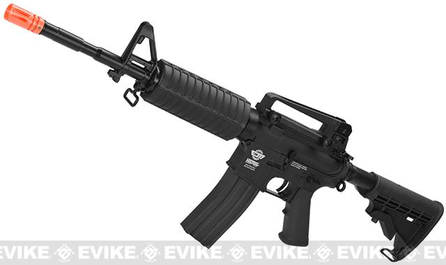 G&G M4 Carbine Combat Machine Airsoft AEG Rifle (Package: Black / Gun Only)