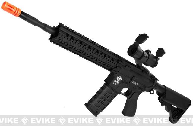 G&G CM16 R8-L Airsoft AEG Rifle Combo Package w/ Scope (Package: Black / Gun Only)