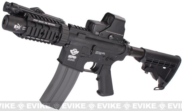 Pre-Order ETA June 2018 Evike Custom Class I G&G M4 Stubby Killer Airsoft AEG Rifle - Black (Package: Gun Only)