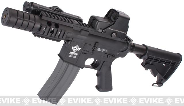 Evike Custom Class I G&G M4 Patriot Airsoft AEG Rifle - Black (Package: Gun Only)