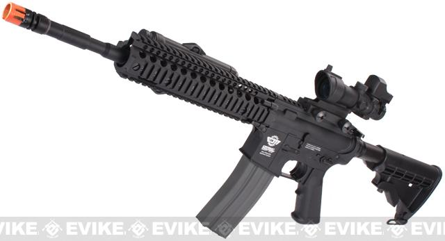 Pre-Order ETA December 2018 Evike Custom Class I G&G M4 Airsoft AEG Rifle - Daniel Defense 9 Black (Package: Gun Only)