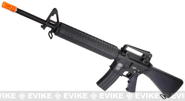G&P M16A3 Full Size Airsoft AEG Rifle (Package: Black / Gun Only)