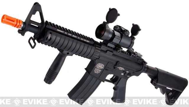 G&P M4 CQB-R Airsoft AEG Rifle (Package: Black / Gun Only)