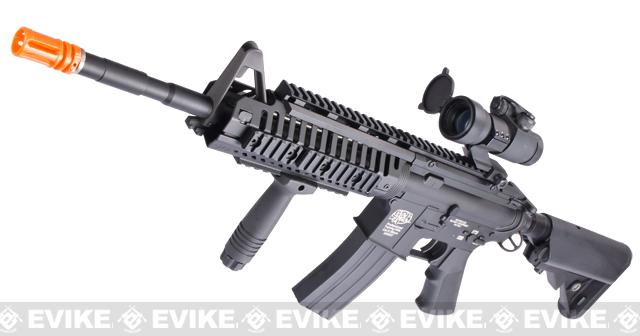 Evike US Navy E.O.D. Custom G&P M4 Airsoft AEG Rifle (Package: Black / Gun Only)