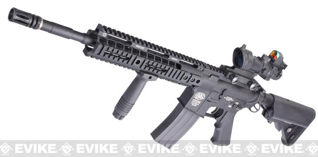 Evike Custom Class I G&P M4 Full Metal Airsoft AEG Rifle - Noveske 10 (Package: Add Battery + Charger)