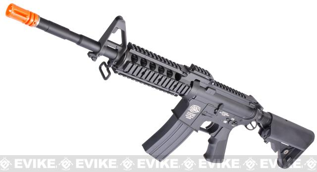 Evike Custom Class I G&P M4 Airsoft AEG Rifle - RAS-II (Package: Black / Gun Only)