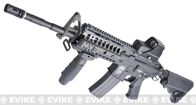 z Evike Custom G&P M4 Full Metal Airsoft AEG Rifle - Special System