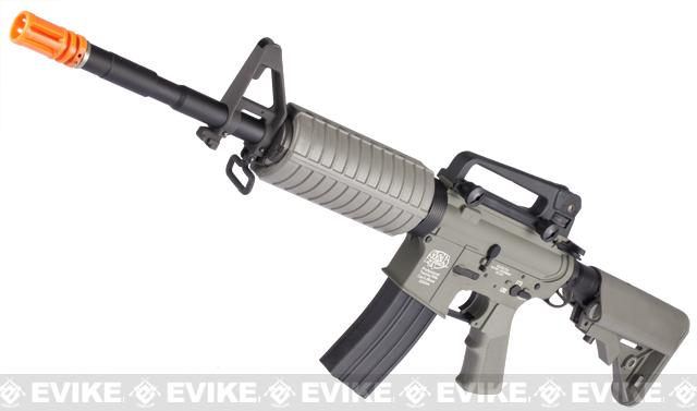 z G&P Full Metal Advanced M4 Carbine AEG w/ Crane Stock (Model: Foliage Green Add Battery + Charger)
