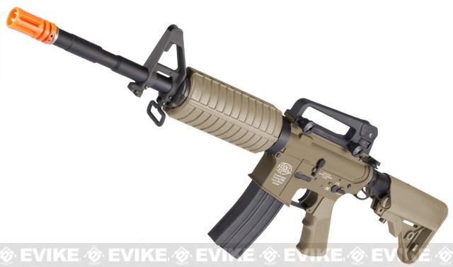 G&P Full Metal Advanced M4 Carbine AEG w/ Crane Stock (Model: Dark Earth)