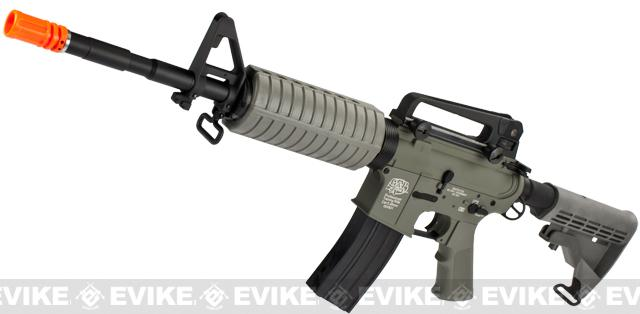 z G&P Full Metal Advanced M4 Carbine AEG w/ LE Stock (Model: Foliage green / LE stock)