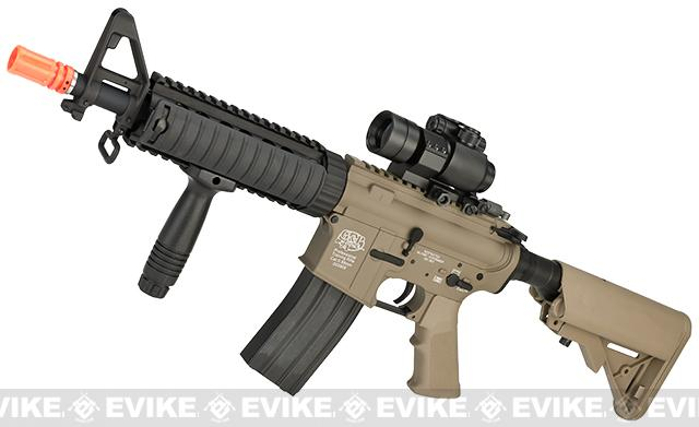 z G&P M4 CQB-R Airsoft AEG Rifle (Package: Dark Earth / Add Battery + Charger)