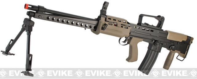 Pre-Order ETA October 2017 ICS Full Metal L86A2 British Military Full Size Airsoft AEG Rifle