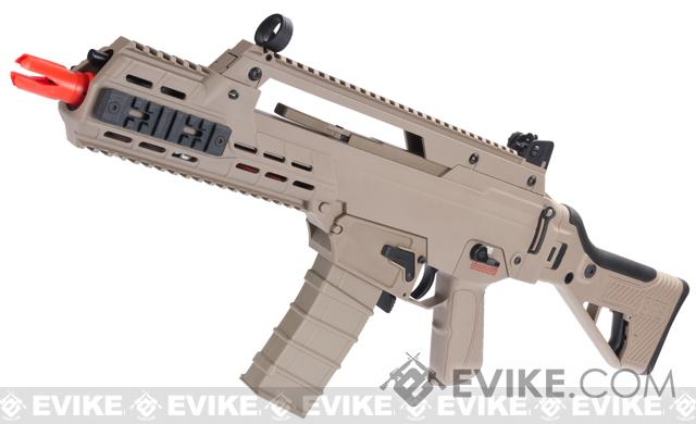 ICS G33 Airsoft AEG Rifle (Color: Desert Tan)