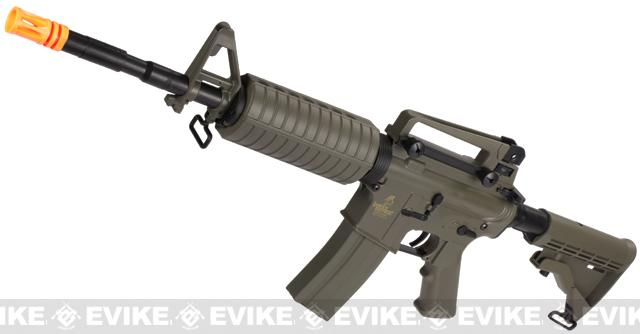 z Lancer Tactical M4A1 Airsoft AEG Rifle (Color: Tan)