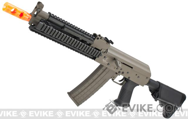 Bone Yard - Lancer Tactical Metal Tactical AK Airsoft AEG Rifle (Store Display, Non-Working Or Refurbished Models)