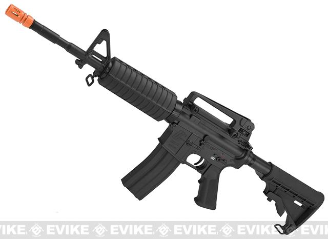 G&G Full Metal M4 Carbine Airsoft AEG Rifle w/ LE Stock - Black (Package: Gun Only)