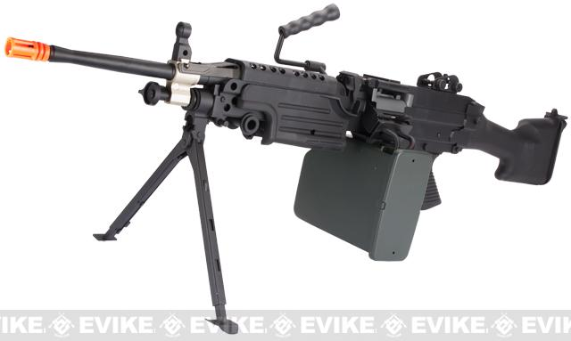 A&K Full Metal M249 Airsoft Machine Gun (Version: MK II / Black / AEG)