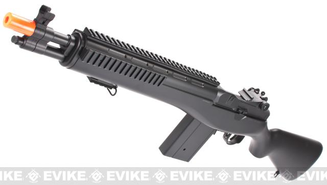 Bone Yard - DE Full Size M14 Socom 16 M806F Entry Level Airsoft AEG Rifle  (Store Display, Non-Working Or Refurbished Models)