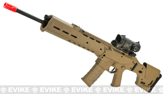 A&K Adaptive Combat Rifle  Airsoft AEG Rifle (Color: Dark Earth / DMR)