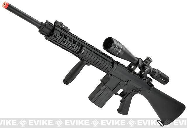 Bone Yard - Matrix SR-25 Airsoft AEG (Store Display, Non-Working Or Refurbished Models)