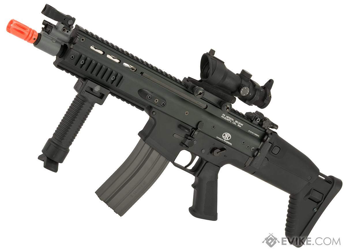 FN Herstal Licensed Full Metal SCAR CQB Airsoft AEG Rifle by G&G (Package: Black / Gun Only)