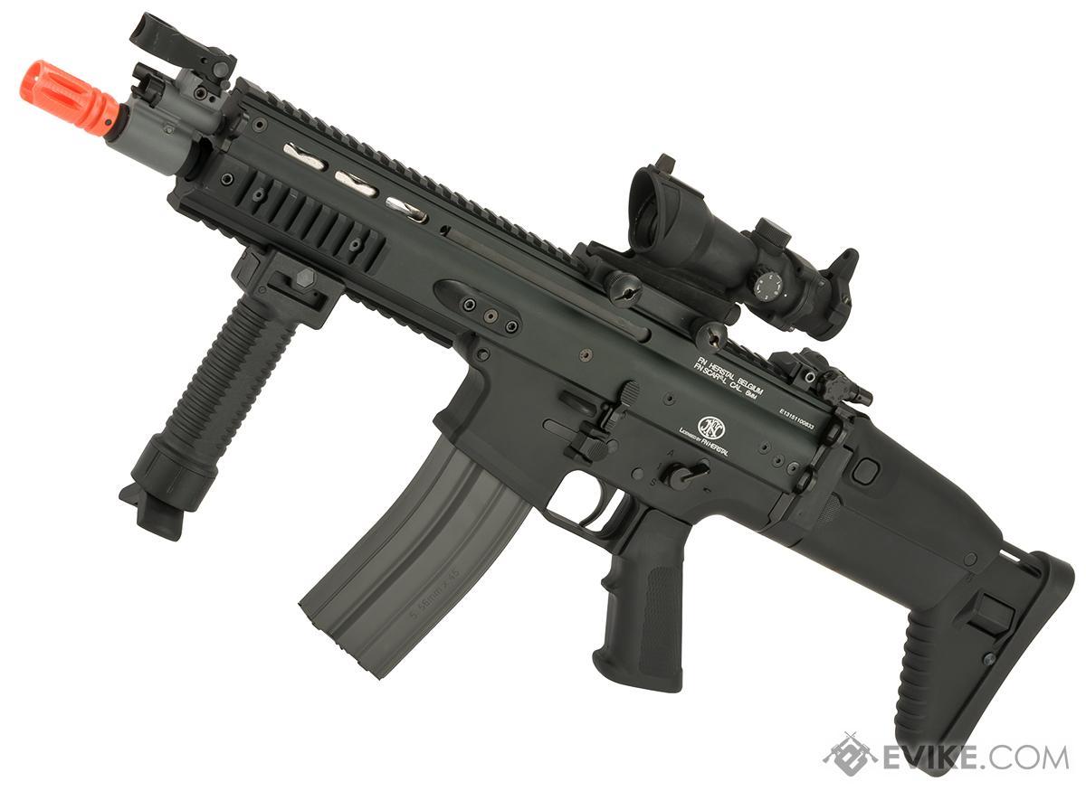 FN Herstal Licensed Full Metal SCAR CQB Airsoft AEG Rifle by G&G (Package: Black / Gun Only)