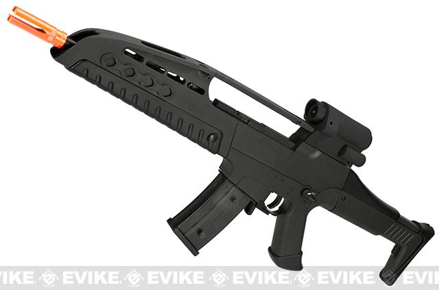 SRC SM8 Airsoft AEG Rifle w/ Two Hi-Cap Mags - Black