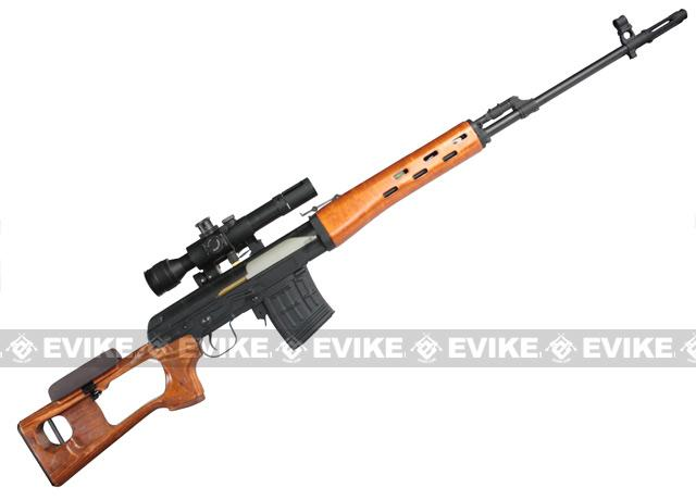Real Sword Dragunov SVD Semi-Auto Airsoft Sniper Rifle. (Type 79/85)
