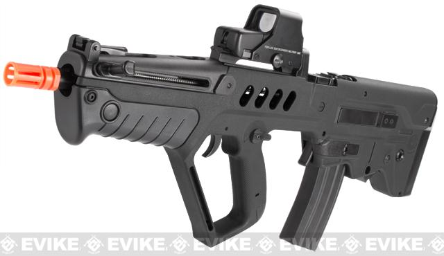 IWI Licensed TAVOR TAR-21 Airsoft AEG Rifle by Umarex w/ Metal Gearbox (Color: Black / Competition Series)