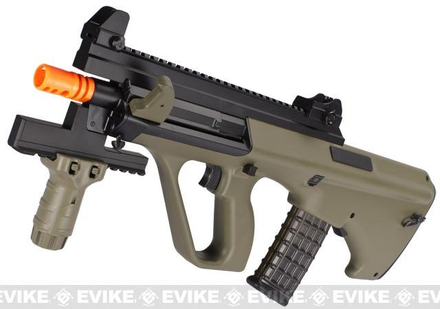z Tokyo Marui AUG Custom High Cycle Airsoft AEG Rifle (Color: Tan)